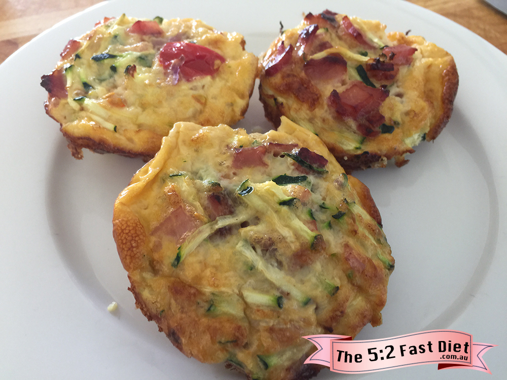 Egg & Bacon Muffins Ingredients: 6 eggs 200g lean short cut bacon ...